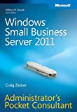 img - for Windows Small Business Server 2011 Administrator's Pocket Consultant book / textbook / text book