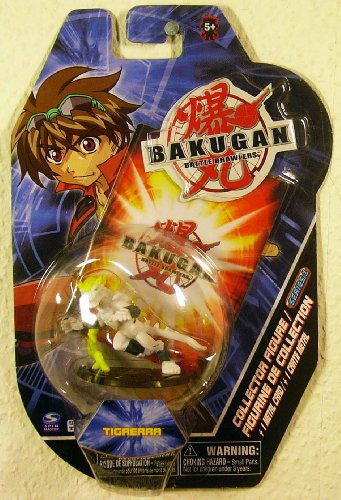 "Bakugan Battle Brawlers 2"" Collector Figure - Tigrerra - 1"