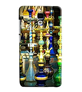 Blue Throat Hookas Inpsired Hard Plastic Printed Back Cover/Case For Xiaomi Mi4