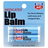 Rite Aid Lip Balm, Medicated 2 - 0.15 oz (4.25 g) each