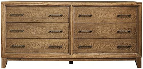 "Sloane 6 drawer Dresser, 33""Hx69""Wx22""D, LATTE"