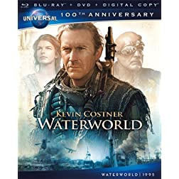 Waterworld [Blu-ray + DVD + Digital Copy] (Universal's 100th Anniversary)