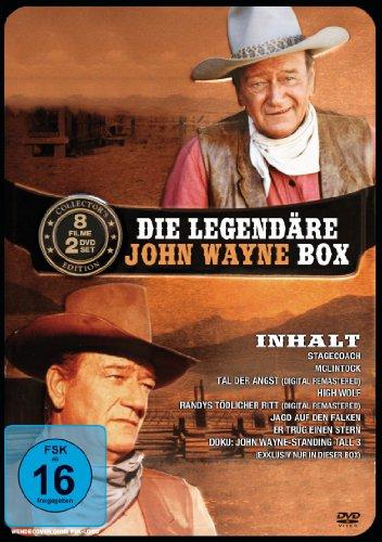 Die Legendäre John Wayne Box [2 DVDs]