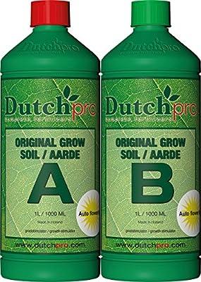 Dutchpro AUTO FLOWER Soil Grow A+B Set 1 Liter
