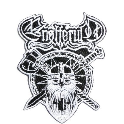 ENSIFERUM Viking Axe Shield patches Embroidered iron/sew on Patch to Cloth, Jacket, Jean, Cap, T-shirt and Etc. /Size 8.4x6.4 cm (Ensiferum Iron compare prices)