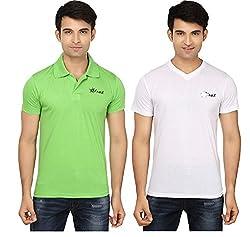 Strak Cotton Men's Casual T-Shirt (STR2029_L)