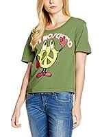Love Moschino Camiseta Manga Corta (Verde)