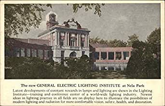 General Electric Lighting Institute At Nela Park Cleveland Ohio Original Vin