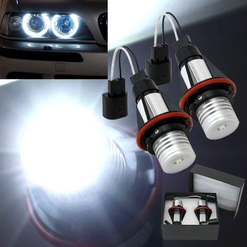 Maxsale 2X Bmw E39 E53 E60 E61 Car Angel Eye Led Halo Lights Lamps 10 Watts
