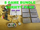 Super Nintendo NES System Console Large Bundle Lot with Games