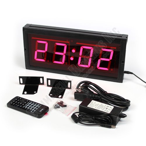 Oversized LED Digital Clock 3
