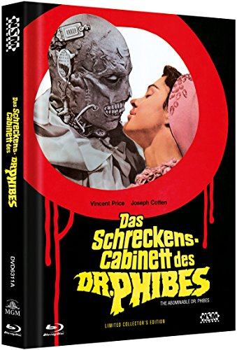 Das Schreckenscabinett des Dr. Phibes - uncut (Blu-Ray+DVD) auf 333 limitiertes Mediabook Cover A [Limited Collector's Edition] [Limited Edition]