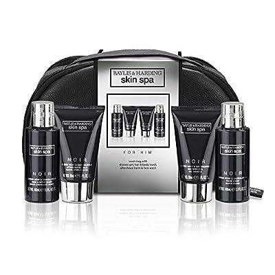 Baylis & Harding Men's Skin Spa Noir Wash Bag Gift Set