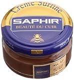 [サフィール] SAPHIR ビーズワックスファインクリーム 50ml 9550032 (ミディアムブラウン)[HTRC4.1]