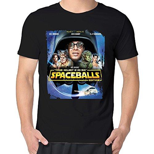 Spaceballs Blu-ray-Your Helmet Is So Big Men Cotton Short Sleeve Political T Shirt