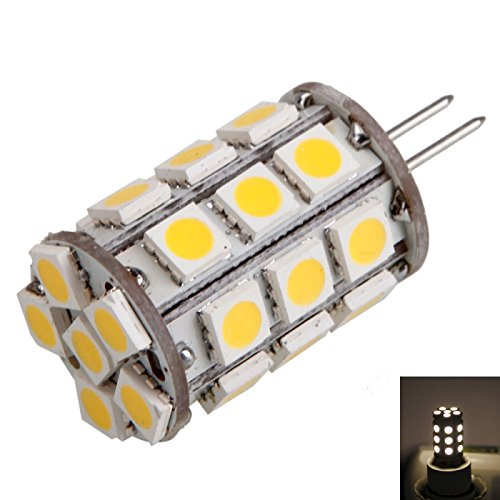 Corn Bulbs - G4 4W 27Led 400Lm 3000K Warm White Light Corn Lamp Bulb (12V)