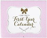 Carter's First Year Calendar, Sweet Sparkle