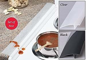 Countertop Stove Amazon : Silicone Stove And Countertop Gap Strips - Set Of 2: Amazon.com ...