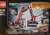 Lego Technik 66318 Superpack 4 in 1 mit 8294 Raupenbagger - 8259 Mini Bulldozer - 8290 Mini Gabelstapler - 8293 Multi Funktions Tuning Set