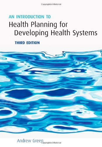 An Introduction to Health Planning for Developing