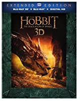 Hobbit: The Desolation of Smaug Extended Edition (Blu-ray 3D + Blu-ray + DVD +UltraViolet Combo Pack) from New Line Home Video