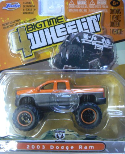 Jada Bigtime 4 Wheelin' 2012/Wave 5 Vague 5 #026 2003 Dodge Ram