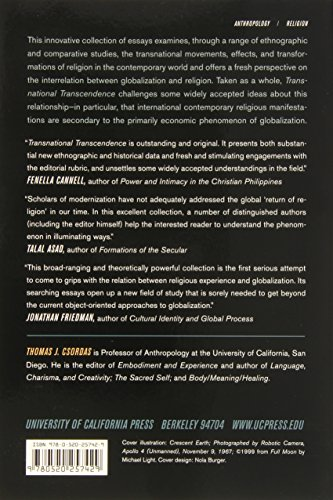 transnational transcendence essays on religion and globalization
