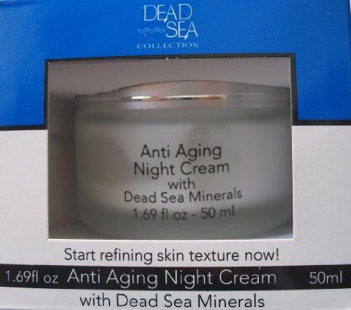 Dead Sea Anti-aging Night Cream with Dead Sea Minerals 1.69 Fl. Oz.