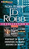 img - for By J. D. Robb J. D. Robb CD Collection 6: Portrait in Death, Imitation in Death, Divided in Death (In Death Series (Abridged) [Audio CD] book / textbook / text book