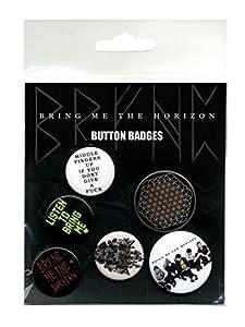 GB eye Bring Me the Horizon Sempiternal Badge Pack