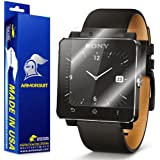 ArmorSuit MilitaryShield - Sony SmartWatch 2 Screen Protector Shield + Lifetime Replacements