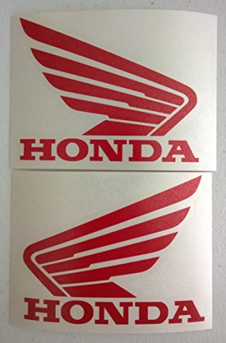 Set of 2 Honda Wing Tank Decals (Honda Wings compare prices)