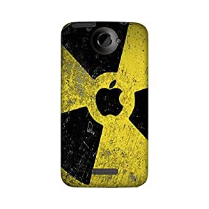Wrapit Famous Yellow Fan Apple Hard Back Case Cover For HTC One X