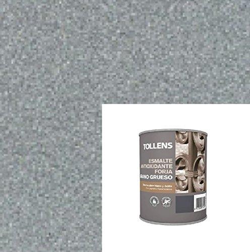 esmalte-forja-grano-grueso-tollens-gris-acero-750-ml