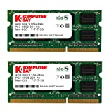 Komputerbay 8GB (2x 4GB) 204 Pin 1066MHz PC3-8500 DDR3 SODIMM Laptop Notebook Memory for Apple Mac Mini
