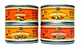 Merrick Grain Free Canned Dog Food Variety Bundle - 4 Flavors (Turducken, Thanksgiving Day Dinner, Grammy's Pot Pie, and Cowboy Cookout) - 3 Ounces Each (24 Total Cans - 6 of Each Flavor)