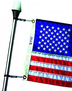 DU-BRO Fishing Flag Clips for Stern Lights or Flag Poles