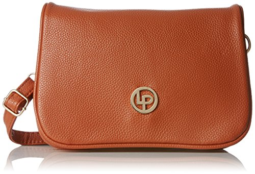 Lino Perros Women's Sling Bag (Brown) - B01M6EAPAK