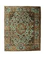 CarpeTrade Alfombra Deluxe Persian Vintage (Marrón/Azul)