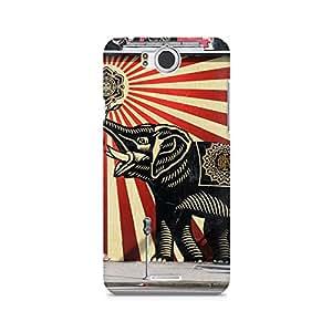 Mobicture Elephant Premium Printed Case For InFocus M530