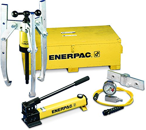 Bhp Series Hydraulic Master Puller Sets : Enerpac bhp hydraulic grip puller set ton capacity