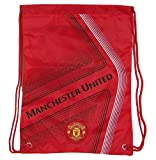 Manchester United Official SOCCER One Size Cinch Backpack by Rhinox Group