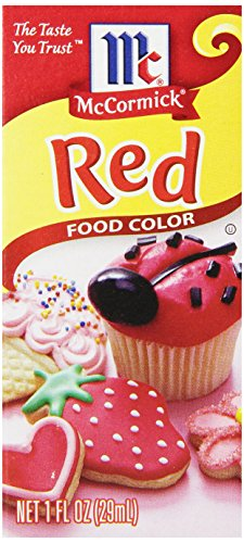 Mccormick Red Color, 1-Ounce