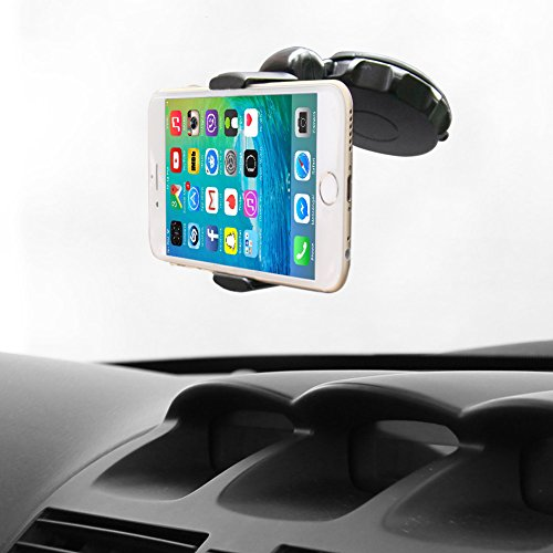 Car mount holder ikross compact gel pad windshield dashboard car mount holder kit vehicles - Notepad holder for car ...