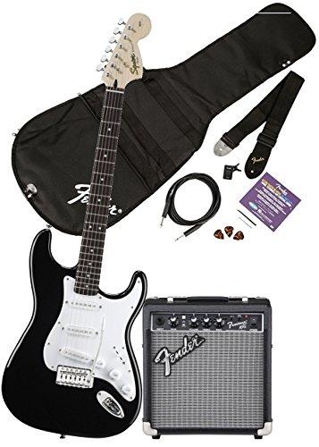 Fender Standard Stratocaster Black Maple Fingerboard