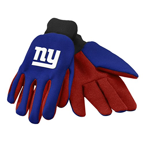NFL New York Giants Utility Gloves (New York Giant Gloves compare prices)
