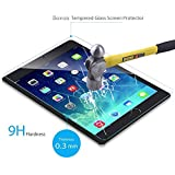 Bovon iPad Pro Tempered Glass Screen Protector, Ultra Clear & Thin, 9H Hardness 0.3mm Rounded Edge, UV Resistant, Anti Scratch & Shatter & Oil, with Maximum Touchscreen Accuracy for Apple iPad Pro