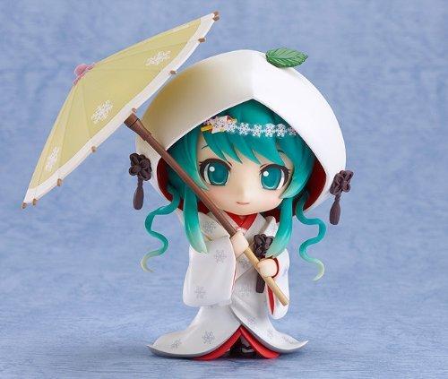 Good Smile Company - Snow Miku Hatsune Strawberry Pure White Ver. Nendoroid figurine PVC
