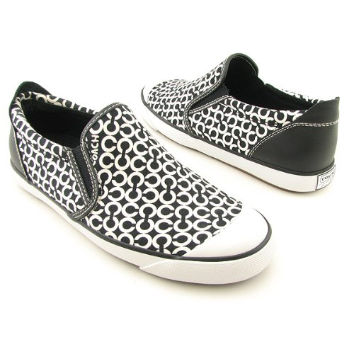 Coach Beale Sneakers Shoes Black Womens