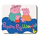 Generic Mp Hipster 240Mmx200Mmx2Mm Mouse Pad Have Peppa Pig Choose Design 2